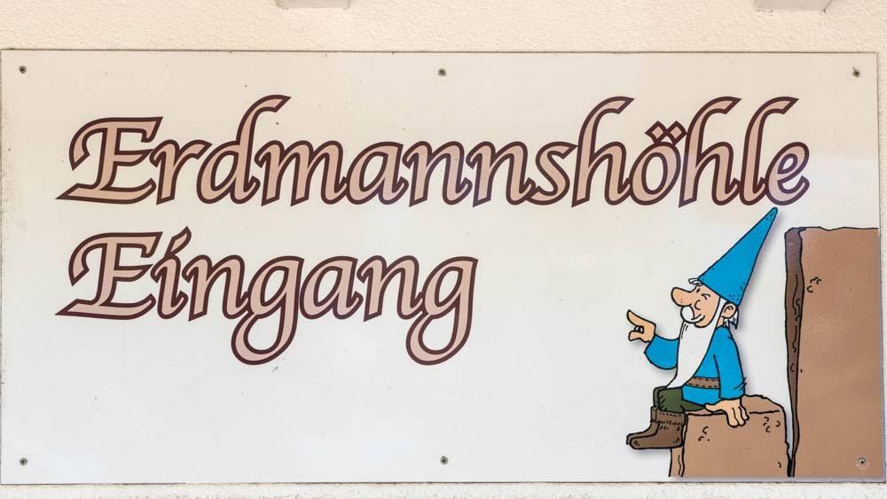 Heimatkunde: Erdmannshöhle in Hasel